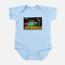 the day the earth stood still Infant Bodysuit