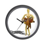 Carrying Western Saddle Wall Clock