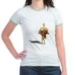 Carrying Western Saddle Jr. Ringer T-Shirt