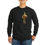 Carrying Western Saddle Long Sleeve Dark T-Shirt