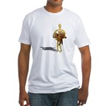 Carrying Western Saddle Fitted T-Shirt
