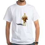 Carrying Western Saddle White T-Shirt