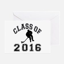 Class Of 2016 Hockey Greeting Card