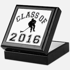 Class Of 2016 Hockey Keepsake Box