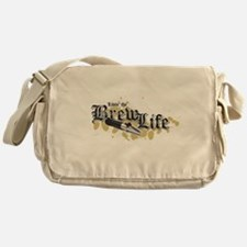 Livin' the Brewlife Messenger Bag