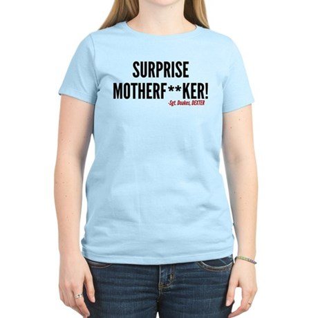 Dexter Doakes Surprise Women's Light T-Shirt