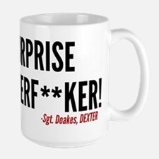 Dexter Doakes Surprise Ceramic Mugs