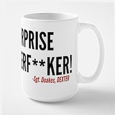 Dexter Doakes Surprise Large Mug