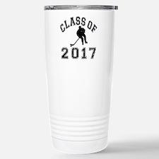 Class Of 2017 Hockey Stainless Steel Travel Mug