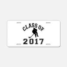 Class Of 2017 Hockey Aluminum License Plate
