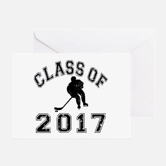 Class Of 2017 Hockey Greeting Card