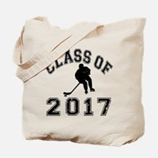 Class Of 2017 Hockey Tote Bag