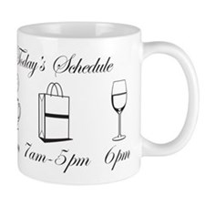 Today's Schedule - Shop till Mug