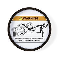 Homebrew Danger! Mutant Yeast Wall Clock