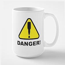 Danger, Beer Supply Low! Large Mug