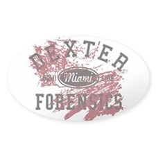 Dexter Forensics Decal