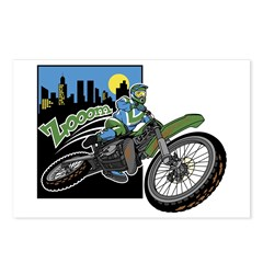 Zooom - Dirt Bike Postcards (Package of 8)
