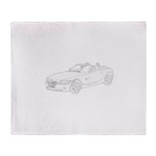 BMW Z4 Throw Blanket