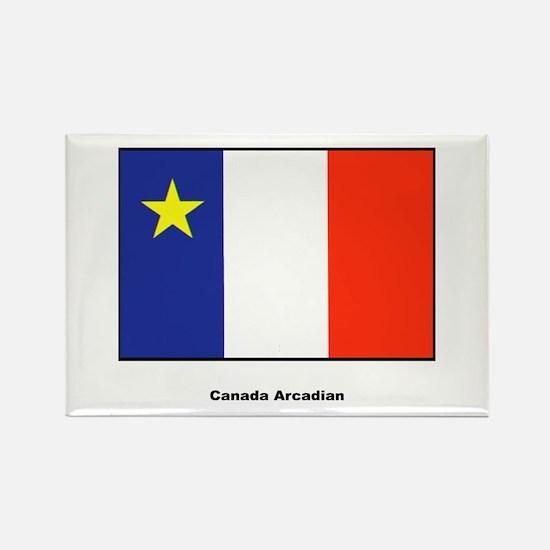 Canada Arcadian Flag Rectangle Magnet