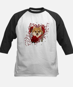 Valentines - Key to My Heart Pomeranian Tee