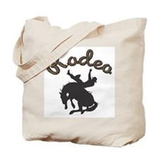 Bronco Rodeo Tote Bag