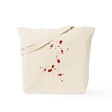 Blood Spatter Tote Bag