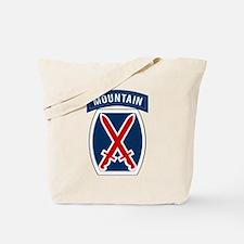 10th Mountain Tote Bag