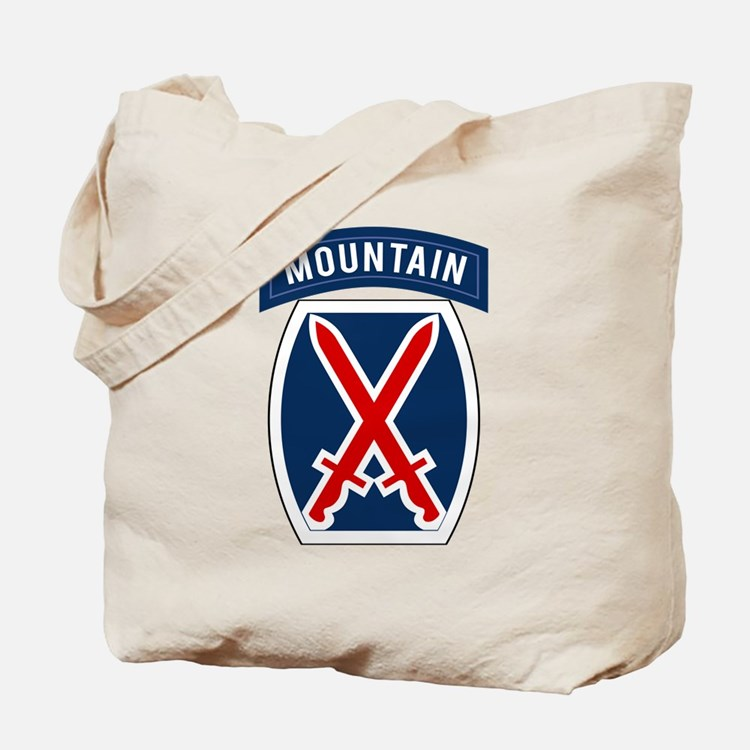 10th Mountain Tote Bag