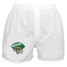 Diamonds Girl's Best Friend Boxer Shorts