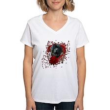 Valentines - Key to My Heart Newfie Shirt