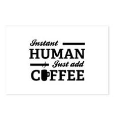 Instant Human Postcards (Package of 8)