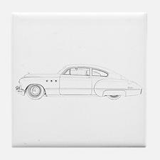 Buick Dynaflow 1949 Tile Coaster