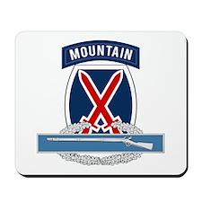 10th Mountain CIB Mousepad