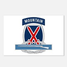 10th Mountain CIB Postcards (Package of 8)