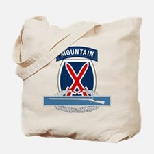 10th Mountain CIB Tote Bag