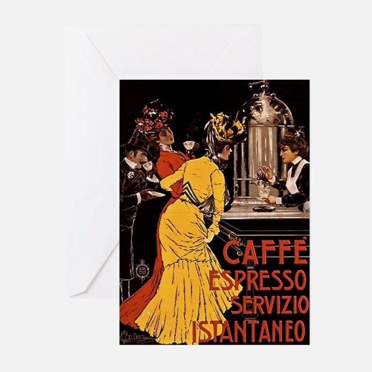 Cafe Espresso Greeting Cards (Pk of 10)