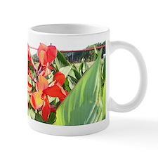 """Canna Lily Sun Bath"" Small Mug"