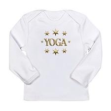 Yoga Stars Long Sleeve Infant T-Shirt