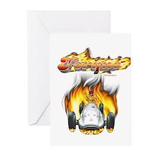 Torque SpeedRacer Greeting Cards (Pk of 10)