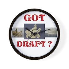 Got Draft? Wall Clock
