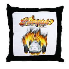 Torque SpeedRacer Throw Pillow