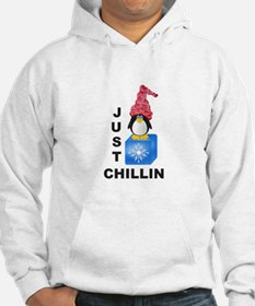 Just Chillin Penguin Hoodie