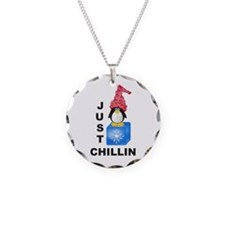 Just Chillin Penguin Necklace