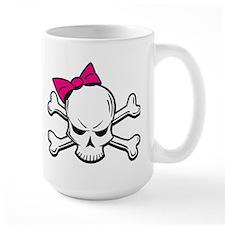 Girly Skull Mug