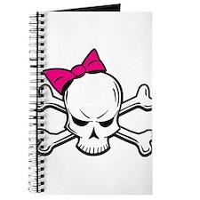 Girly Skull Journal