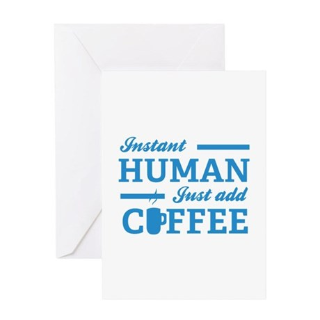 Instant Human Greeting Card