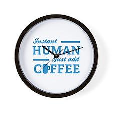 Instant Human Wall Clock