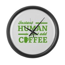 Instant Human Large Wall Clock