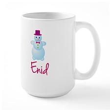 Enid the snow woman Mug