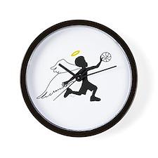 identity: angelball Wall Clock